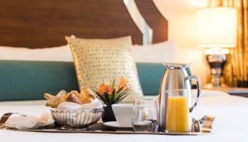 L'hermitage hotel breakfast