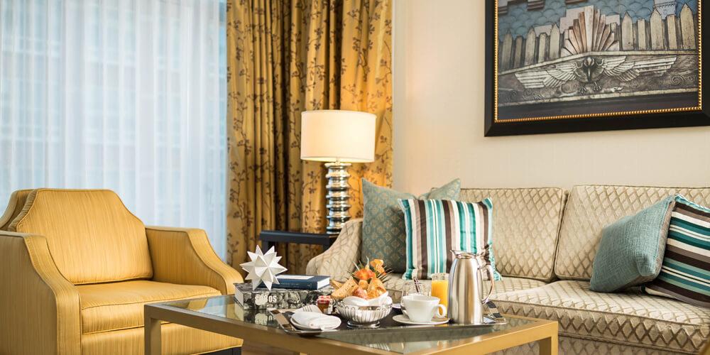 L'hermitage Hotel Room