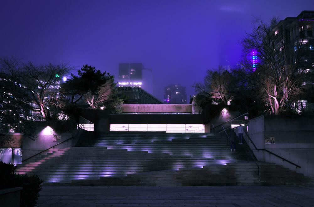 robon street nightview